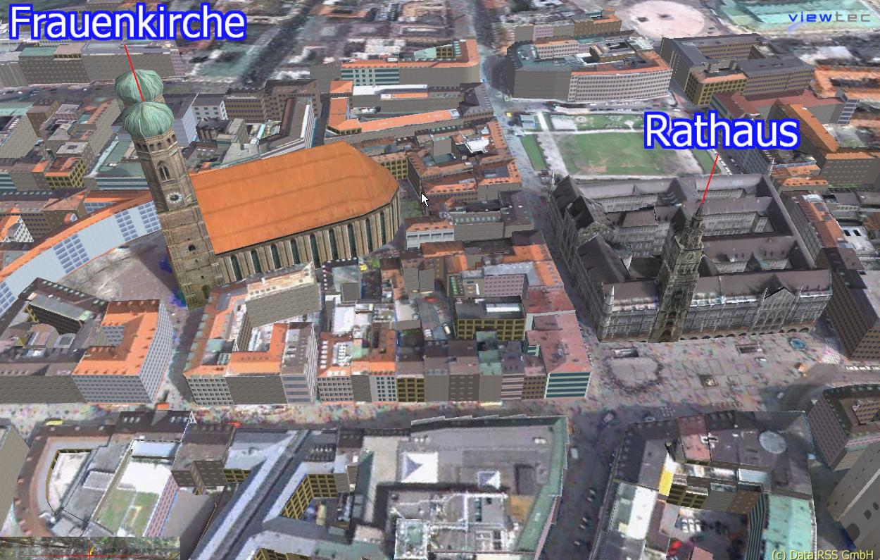 TerrainView Web Munich Screenshot