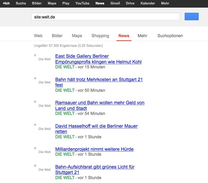 Google News Seite mit Snippets als 7x7 RGBA PNGs (unskaliert)
